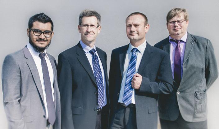 Das Beraterteam von EGZ-Consult